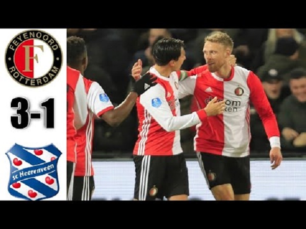 Heerenveen thua đậm trong ngày Văn Hậu ngồi dự bị