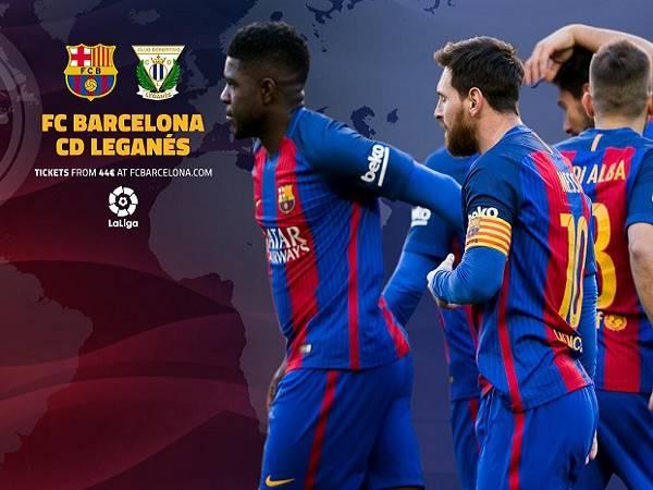 Soi kèo Barcelona vs Leganes, 1h00 ngày 31/01