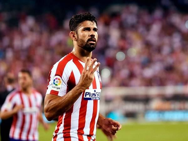 Diego Costa trong top 4 tiền đạo gây thất vọng nhất châu Âu hiện tại