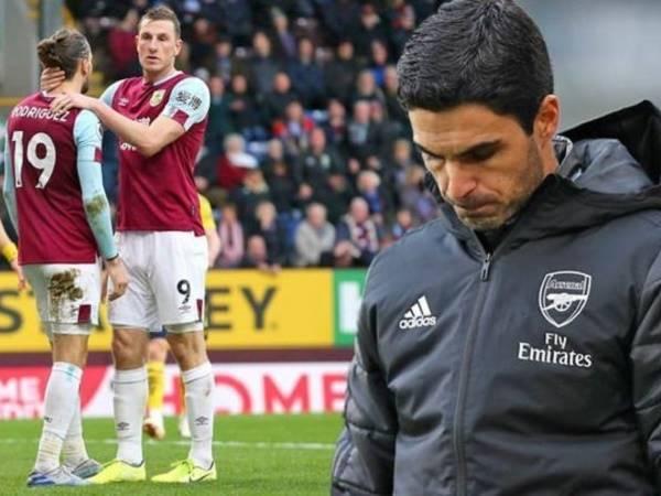 Hoà Burnley, Arsenal lập kỉ lục tệ nhất sau hơn 1 thế kỷ