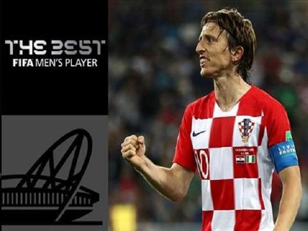 Cầu thủ xuất sắc nhất năm của fifa 2018 là Luka Modric
