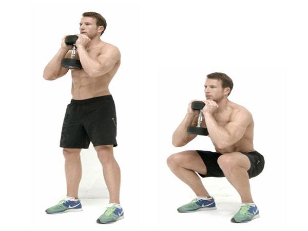 Bài tập squat cho nam giúp thân hình săn chắc hấp dẫn