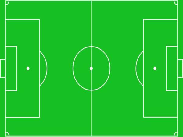 Kích thước sân bóng đá 7 người mới nhất