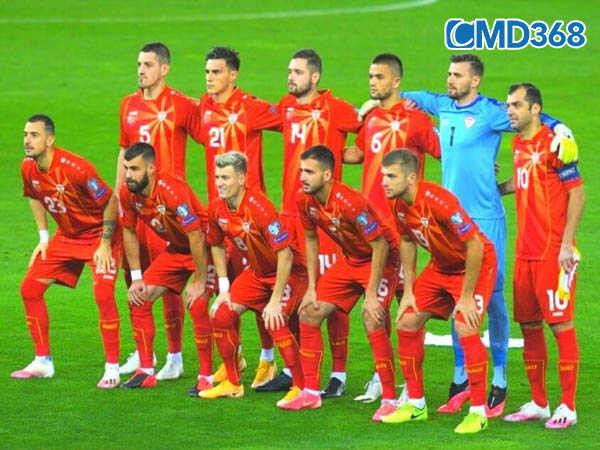 Danh sách dự kiến cầu thủ đội hình Bắc Macedonia giải Euro 2020 năm 2021