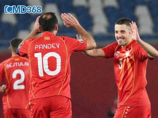 Bắc Macedonia lần đầu tham dự Euro tại vòng chung kết