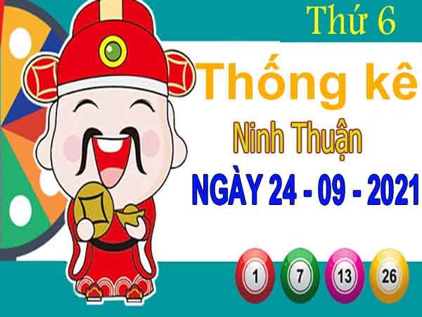 Thống kê XSNT ngày 24/9/2021 đài Ninh Thuận thứ 6 hôm nay chính xác nhất